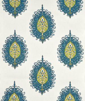 Suburban Home Westminster Aqua/Green Fabric
