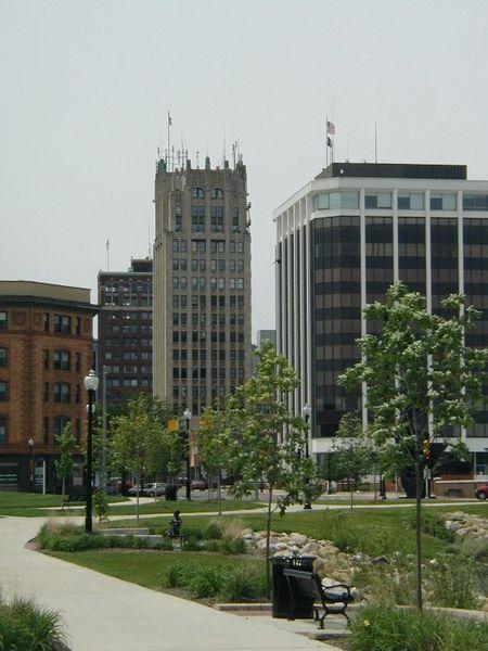 Downtown Jackson, Michigan