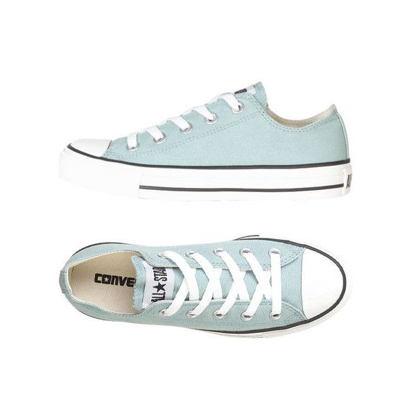 Converse Ox (€40) ❤ liked on Polyvore featuring shoes, sneakers, converse, sapatos, converse sneakers, converse footwear, converse trainers, converse shoes and party shoes