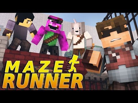 "Minecraft MAZE RUNNER! - ""Welcome to the Maze"" #1(Minecraft Roleplay) - YouTube"