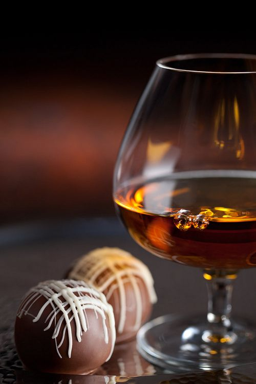 chocolate pairs well with a great glass of bourbon, whiskey, or brandy. #GhirardelliChocolate--whole lotta chocolate
