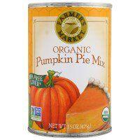 Farmer's Market Foods, Organic Pumpkin Pie Mix, 15 oz (425 g) - iHerb.com