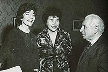 Christa Ludwig –( 16.März 1928- ) ist eine deutsche Mezzosopran.