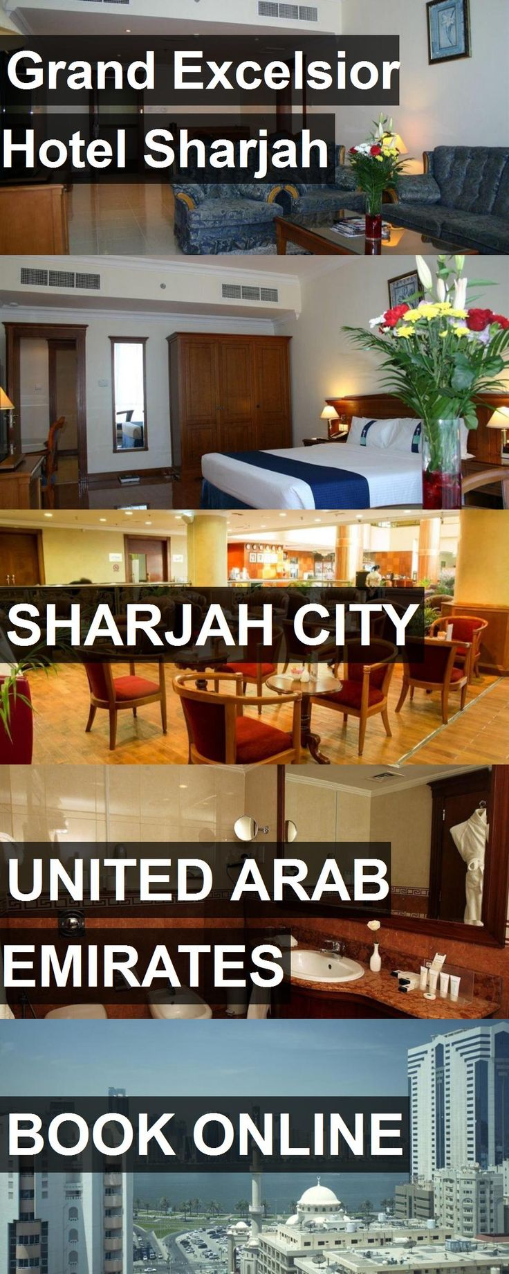 Grand Excelsior Hotel Sharjah in Sharjah City, United Arab Emirates. For more information, photos, reviews and best prices please follow the link. #UnitedArabEmirates #SharjahCity #travel #vacation #hotel