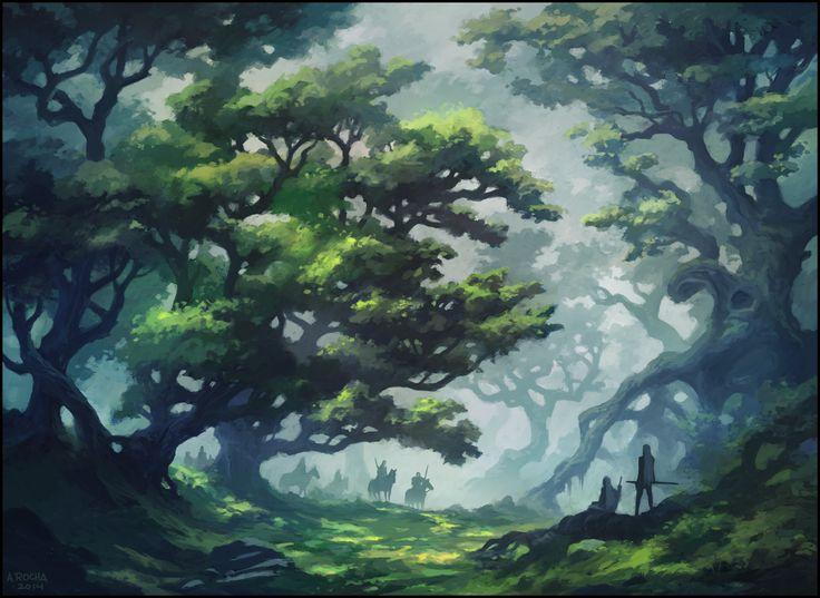 Deep in the Forest by andreasrocha on deviantART