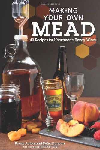 Making Your Own Mead: 43 Recipes for Homemade Honey Wines by Peter Duncan http://www.amazon.com/dp/1565237838/ref=cm_sw_r_pi_dp_nryXtb0VNZXB1AAA
