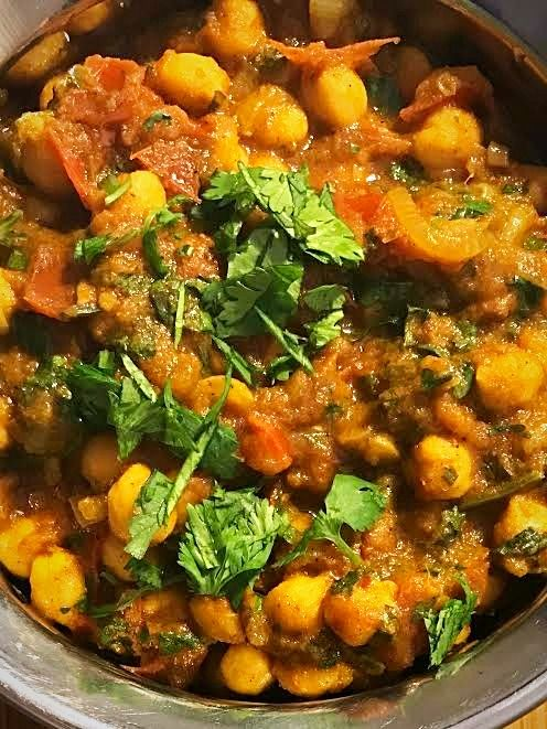 Check out Simon Majumdar's Channa Masala (Chickpeas) Recipe.