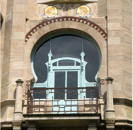 окно/ арт-нуво