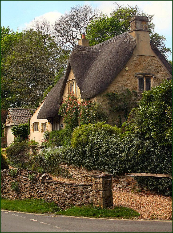 One of many picturesque buildings in the village of Castle Combe in Wiltshire. It has been the setting for many dramas including the 1967 movie 'Doctor Dolittle'.