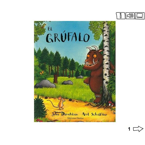 Juegos sobre el cuento El Grúfalo de Julia Donaldson y Axel Scheffler. A partir de 5 años