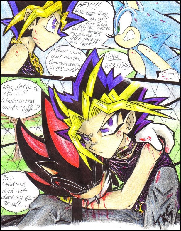 YuGiOh! And Sonic crossover Sonic art Pinterest
