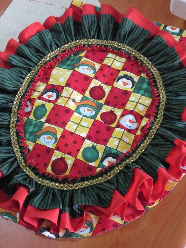 Patrón de forro navideño para la pieza del sanitario | EL BAÚL DE LAS COSTURERAS
