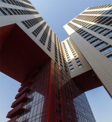 """Архитектурное бюро """"Остоженка"""" - Жилой комплекс в г. Одинцово - Проекты"""
