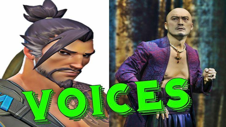 Hanzo: All Voice Lines - Overwatch Voice Actors Overwatch Characters lin...