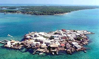 Santa Cruz del Islote: the world's most crowded island