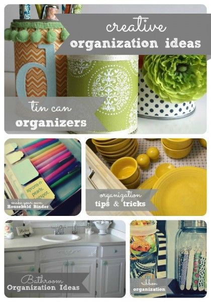 creative organization ideas