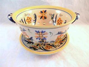 Lillian Vernon 2 Piece Colander / Strainer - Great #eclectic find from #LadyLindasLoft http://stores.ebay.com/Lady-Lindas-Loft?_rdc=1