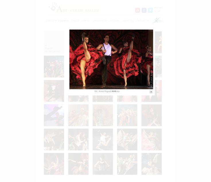 Oferta choreografii kostiumowej zespołu Art Color Ballet obejmuje utwory zaczerpnięte z musicali oraz filmowych hitów, a także realizacje do żywej muzyki przy okazji koncertów i widowisk muzycznych. W repertuarze:......