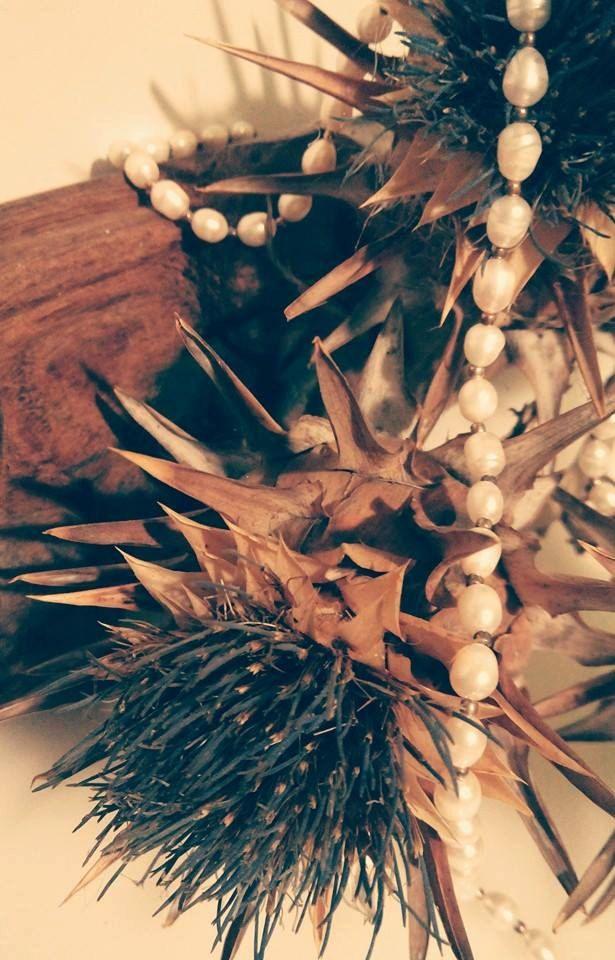 Collana perle Outlander inspired pearls necklace di Lab77Bijoux su Etsy