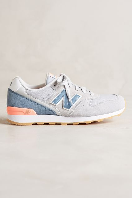 New Balance Sneakers - Grey and Coral