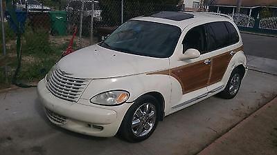 2005 Chrysler PT Cruiser wood and chrome