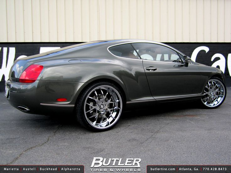Sports Cars Luxury >> Bentley GT with 22in Asanti AF174 Wheels | Wheels, Luxury sports cars and Sports cars