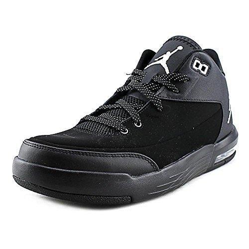 Nike Jordan Men's Jordan Flight Origin 3 Black/Metallic Silver/Black/Black  Basketball