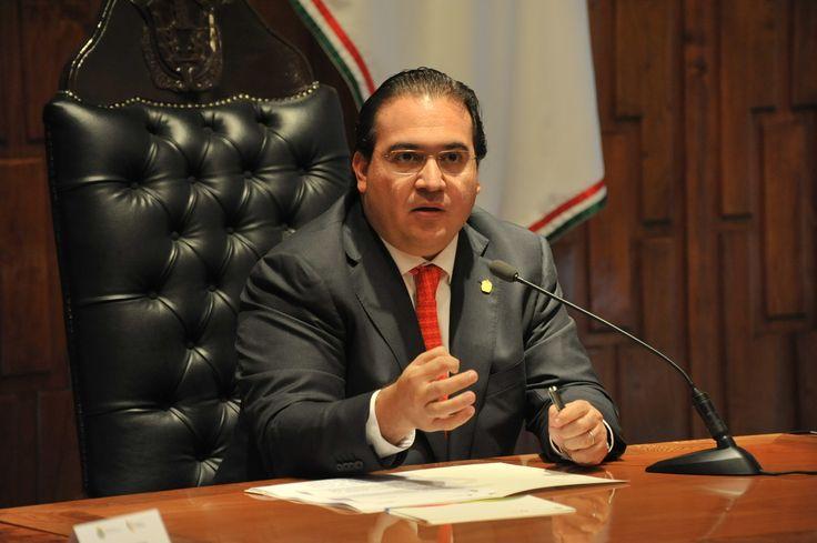 El gobernador Javier Duarte de Ochoa dio conferencia de prensa en Xalapa.