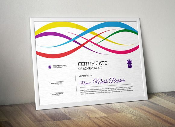 12 best certificate of attendance template images on pinterest certificate yelopaper Choice Image