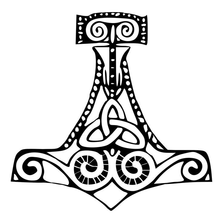 Mjolnir , Thor's hammer | Norse Mythology | Pinterest ...