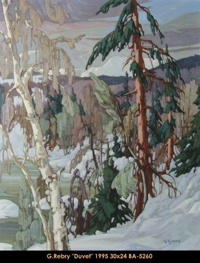 Original oil painting on canevas by Gaston Rebry #gastonrebry #art #fineart…