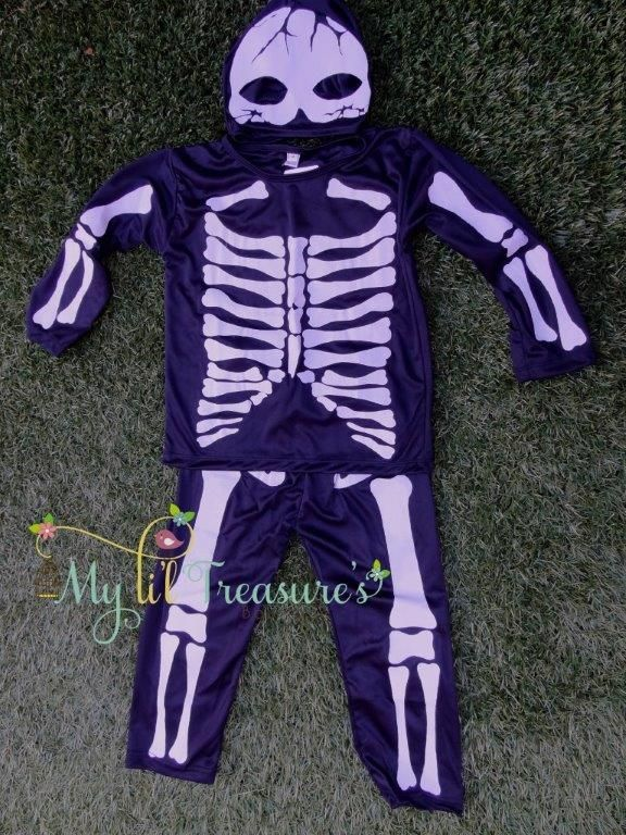 Li'l Skeleton Costume   Out of stock  Pre order available  http://www.myliltreasures.com.au/