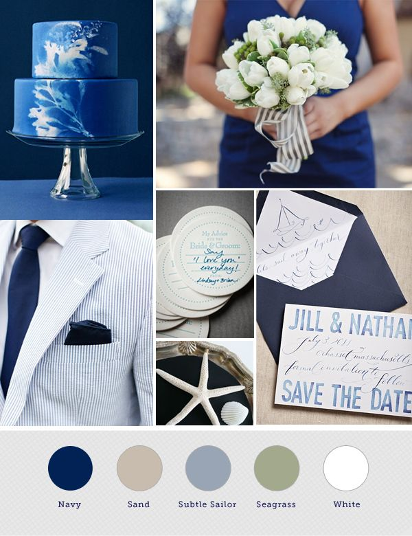 25 best ideas about navy wedding themes on pinterest for Navy blue wedding theme ideas