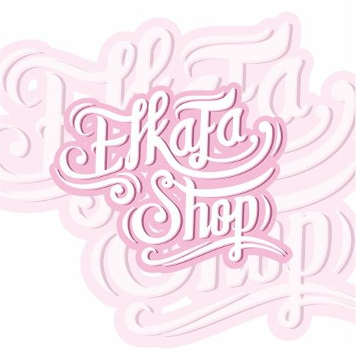 #Elkafa #Shop #Branding #Design #Lattering