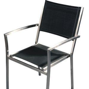 Als set 4 stoelen + verz.kst. €858,65 RVS Stoel Orga