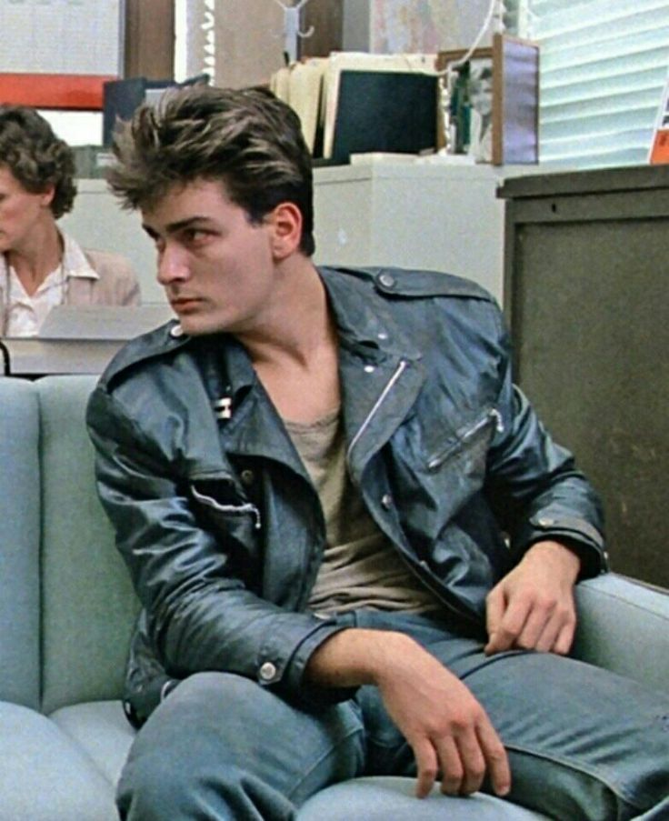 Charlie Sheen cameo in Ferris Bueller's Day Off