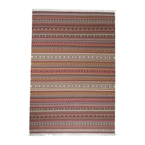 my goal is to create an all white and wood room with a colorful persian rug.