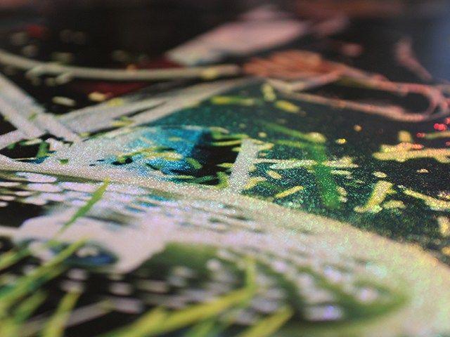 畫面華麗的除草機海報 | MyDesy 淘靈感