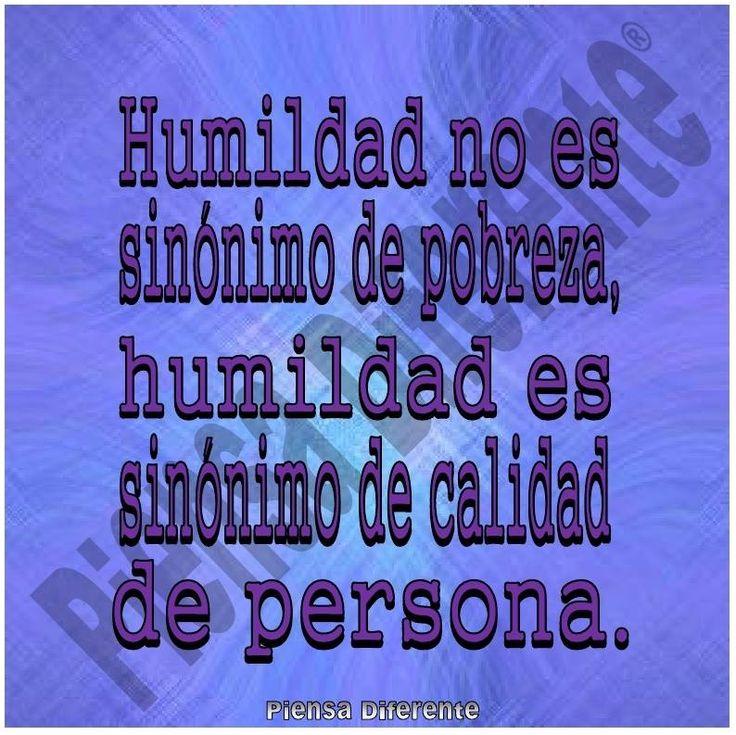Significado de humildad