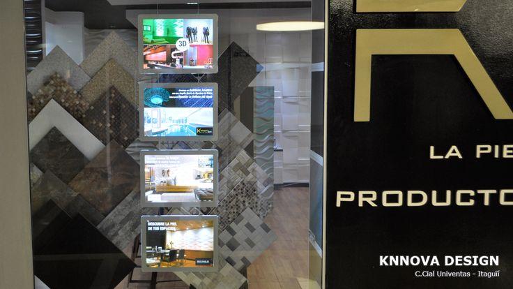 Knnova Design los expertos en productos arquitectónicos tiene un punto de venta más llamativo para vender más gracias a los portacarteles luminosos instalado por www.NegoLuz.co