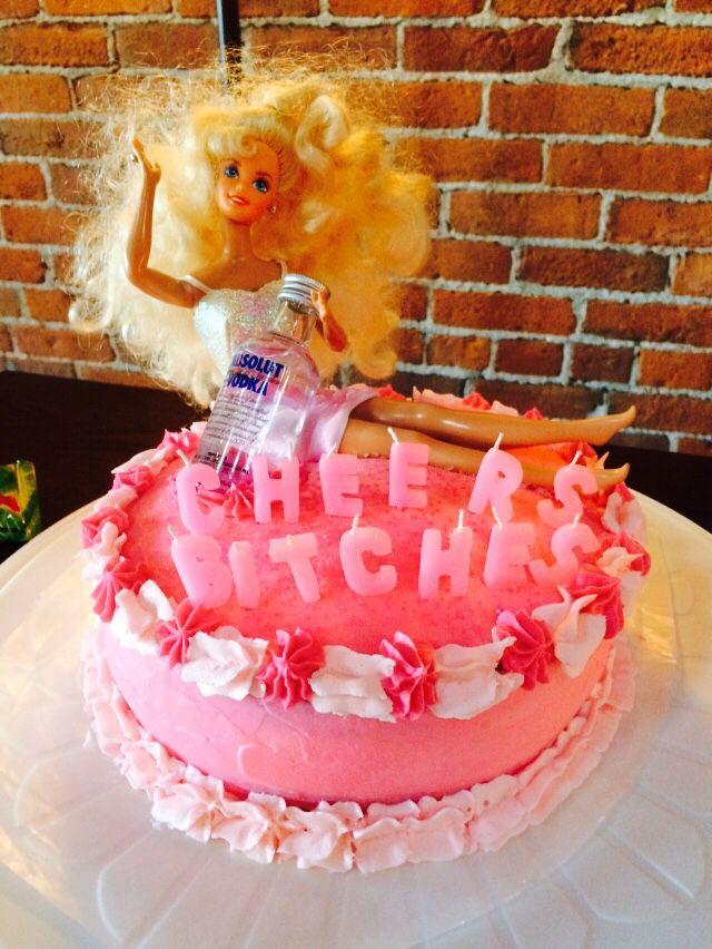 Our Barbie Bachelorette Cake!