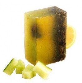 Sapun natural ayurvedic purifiant cu lamaie, castraveti si ceai verde