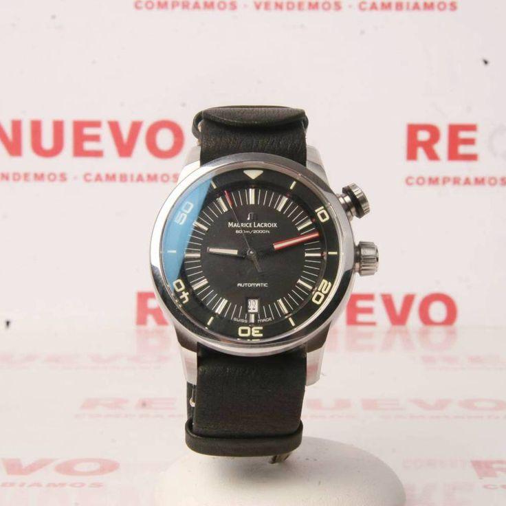 Reloj MAURICE LACROIX PONTOS S DIVER PT 6248 de segunda mano E278161 | Tienda online de segunda mano en Barcelona Re-Nuevo