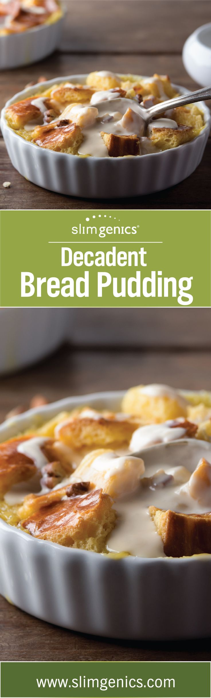 Try this bread pudding recipe for a sweet and gooey treat that will definitely get you into the holiday spirit and feeling anything but deprived.