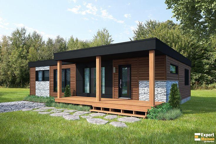 25 best Plans Expert Maison images on Pinterest - modele plan maison plain pied gratuit