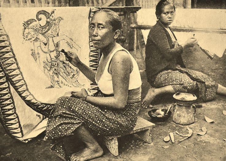 Batik designer Jawa 1940