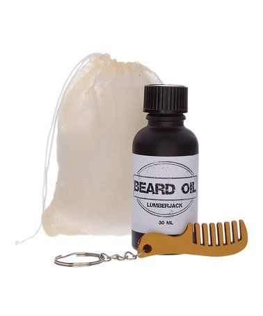 Look what I found on #zulily! Lumberjack Beard Oil #zulilyfinds