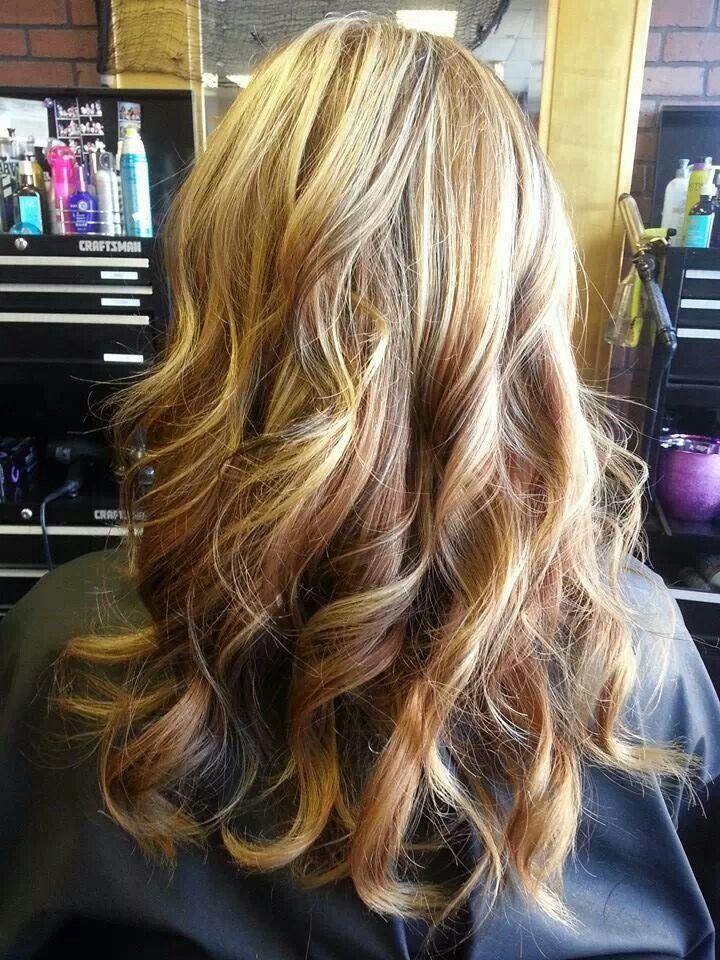 Blonde Amp Caramel Highlights Hair Pinterest Colors