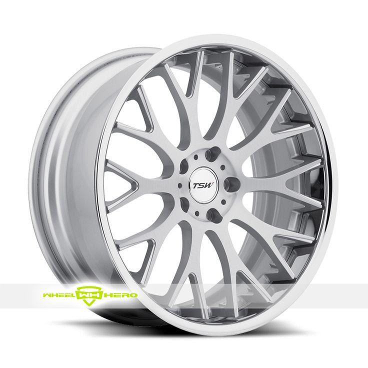 TSW AMAROO Silver Wheels For Sale - For more info: http://www.wheelhero.com/customwheels/TSW/AMAROO-Silver