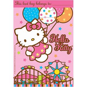 A379303 - Hello Kitty Loot Bags. Please note: approx. 14 days delivery time. www.facebook.com/popitinaboxbusiness
